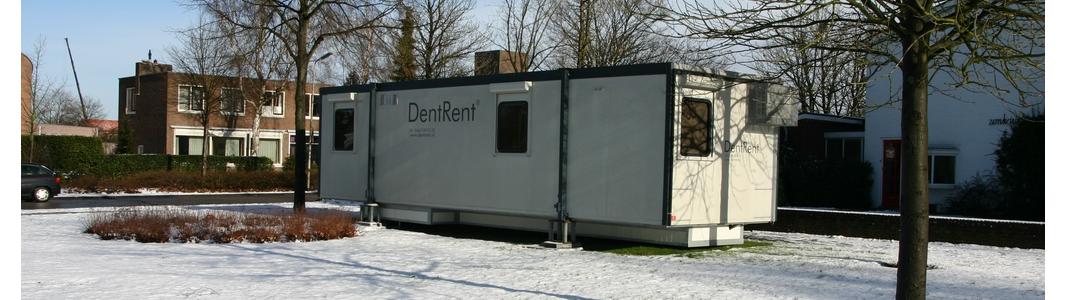 DentRent Portakabin op locatie, tbh dental praktijk