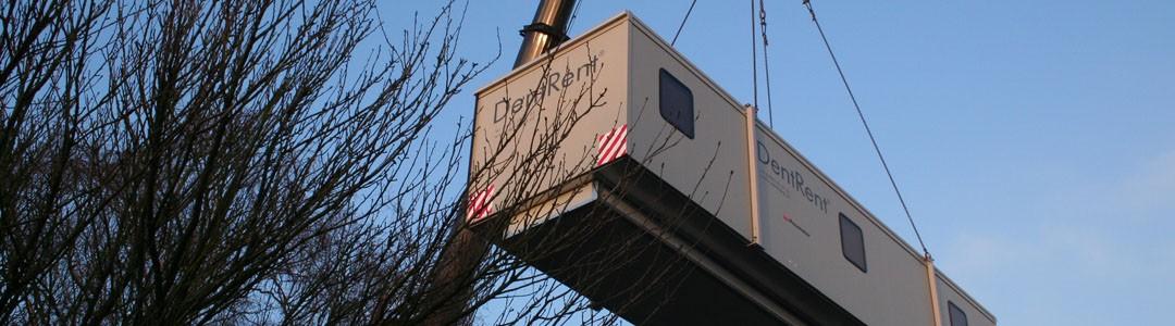 DentRent Cabin tijdelijke huisvesting dental verhuur